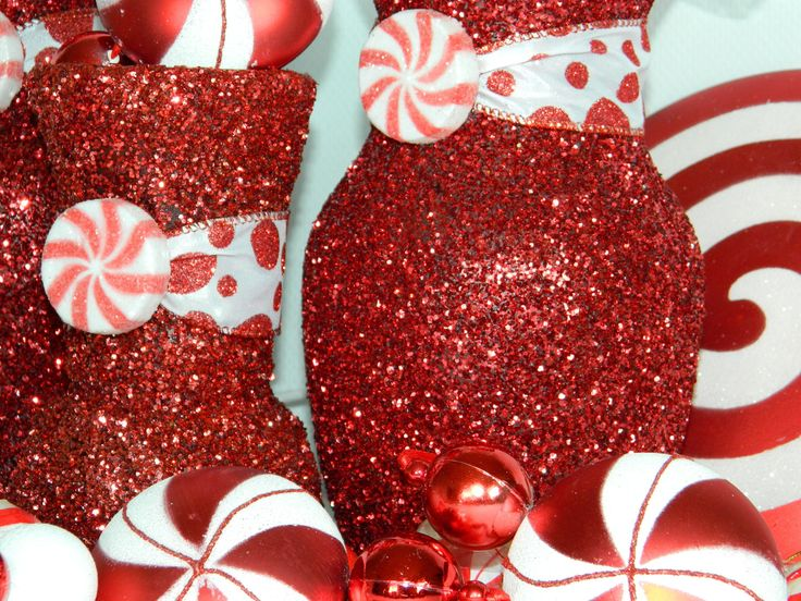 Holiday Party Decor | Christmas Wedding Centerpiece Christmas Wedding By  KPGDesigns