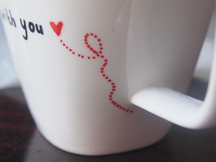 ice pandora: DIY: customize a mug