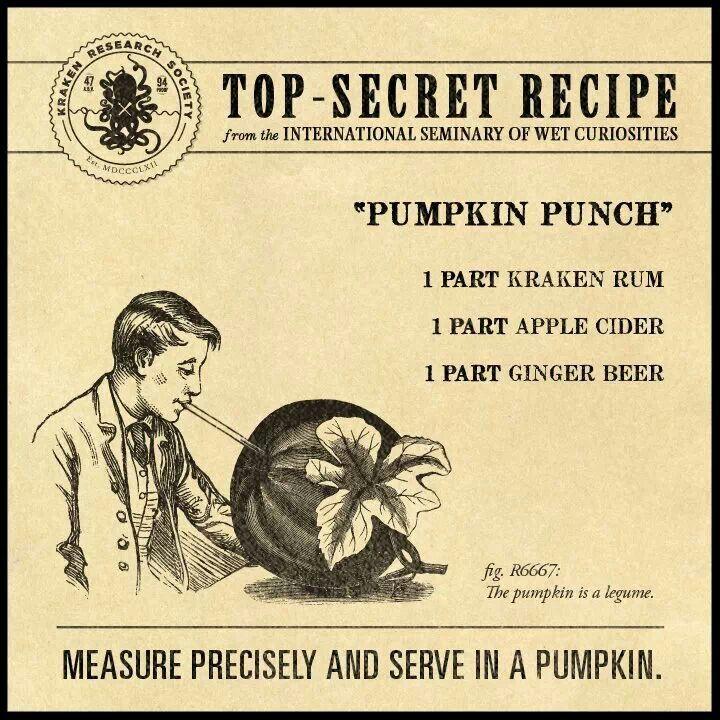 Pumpkin Punch | Kraken Rum