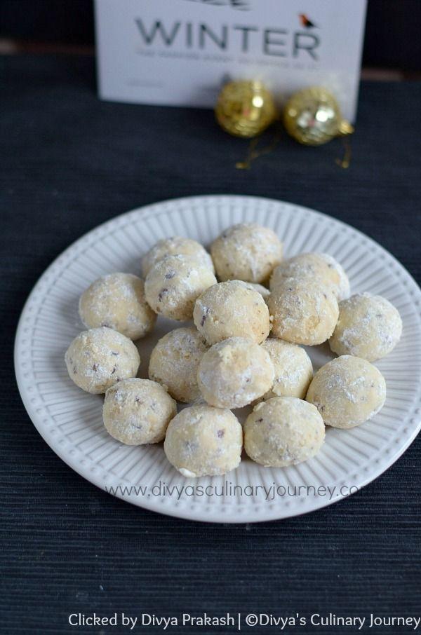 ... as Mexican wedding cookies, Russian tea cakes, pecan butter balls