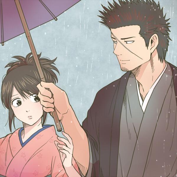 Kondo & Otae #gintama #銀魂