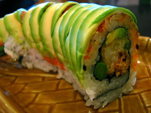 Dragon Roll- Love me some sushi!Sushi Food, Night Food, Idiot Guide, Complete Idiot, Tops Sushi, Sushi Rolls, Sushi Pics, Food Gourmet, Dragons Rolls