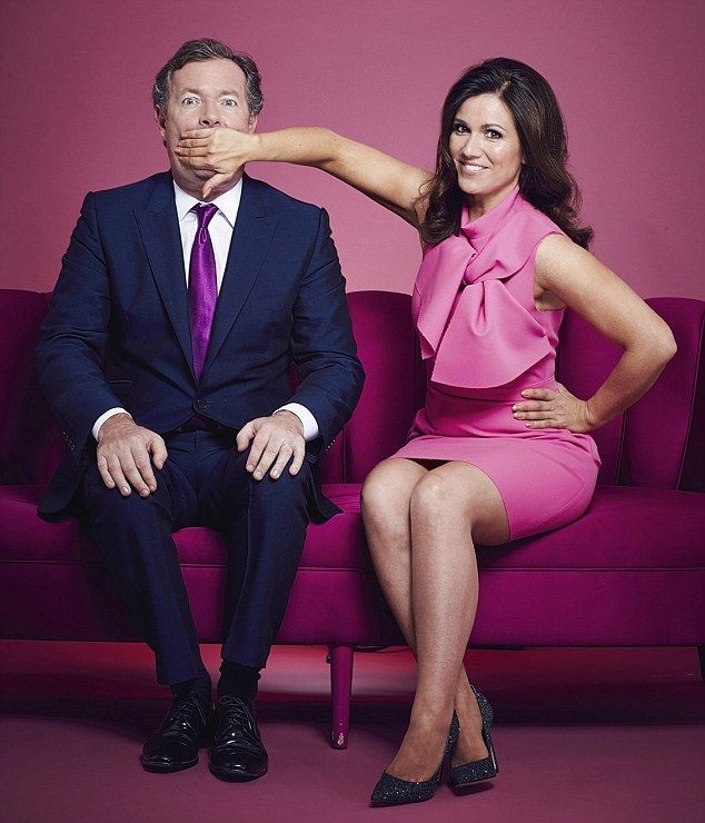 Piers Morgan and Susanna Reid are breakfast TV's new double act...