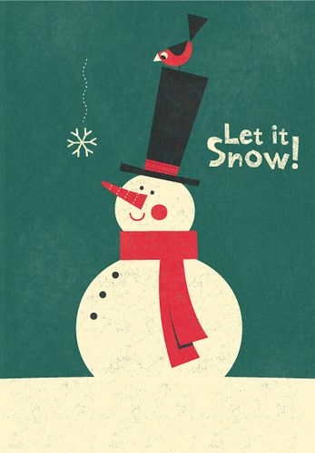 Snowman Sees a Flake Fall | Flickr - Photo Sharing!