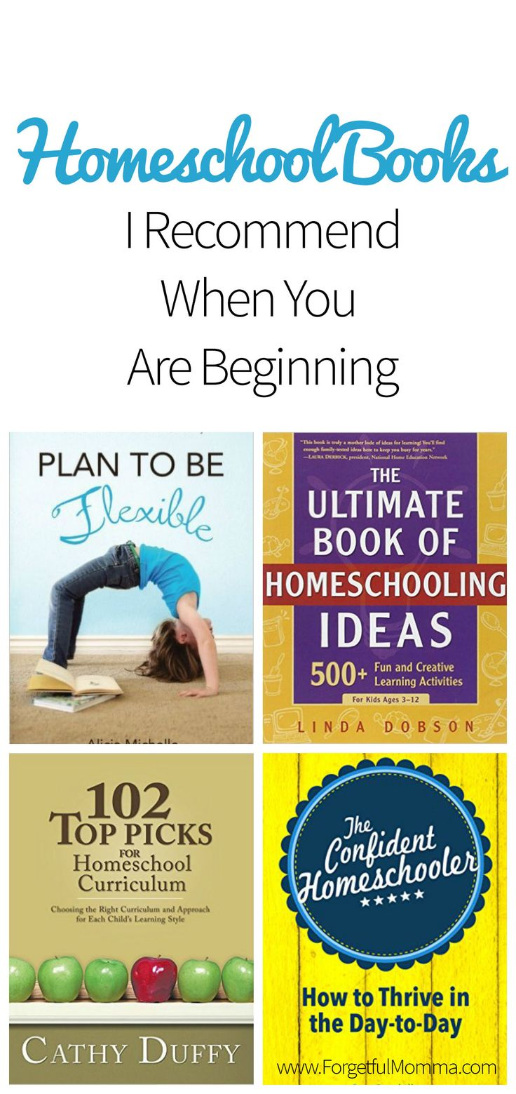 Homeschool books that I would recommend for beginning your homeschool journey. I know there is so much information online but I always to turn to books too.