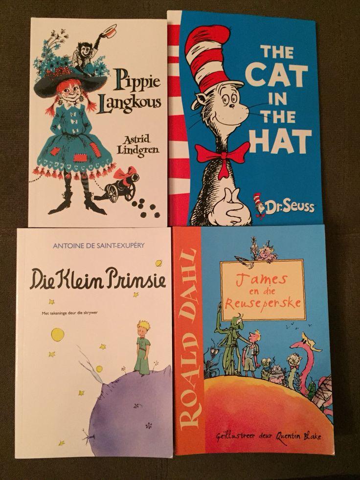 Afrikaans hoofstuk leesboeke wat Mammas vir hul kinders kan lees.