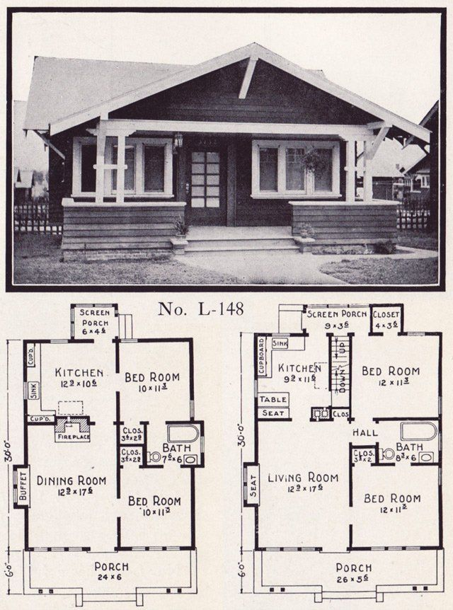 1920s House Plans Bungalow Fresh 1920s House Plans By The E W Stillwell Co Side Gable Craftsman Bungalow House Plans Bungalow House Plans Bungalow Design