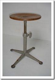industriele kruk Friso Kramer,  drawing stool