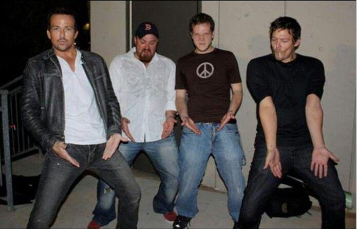 Sean Patrick Flanery, Troy Duffy & Norman Reedus