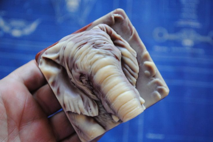 Handmade crafted 2D Elephant Soap – Mather day, Father's Day Gift, Kid, Children Soap