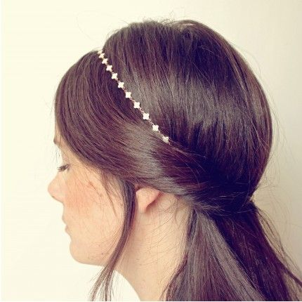 Headband mariage Pemberley LYS - Place du Mariage