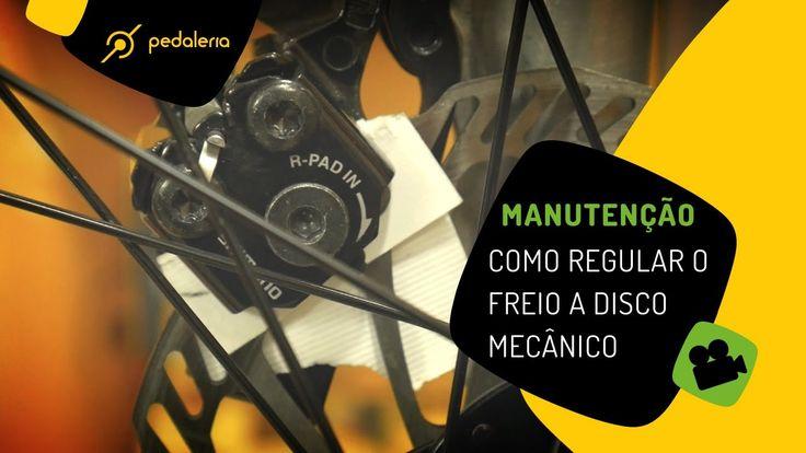 Pedaleria - Como regular o freio da bike? Freio a disco mecânico.