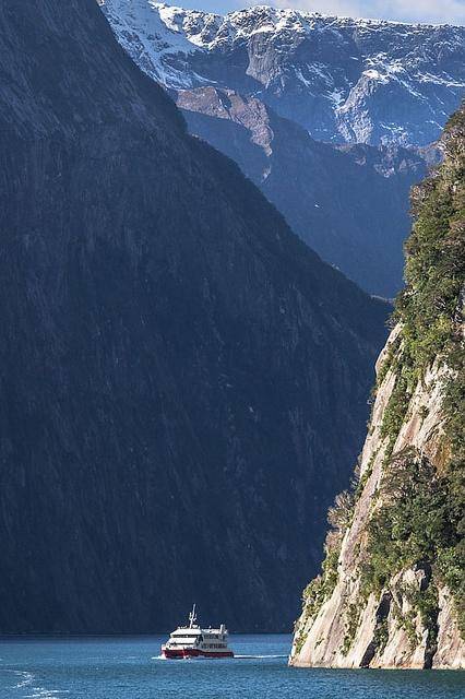 Milford Sound, Fiordland, New Zealand,Te Wahipounam