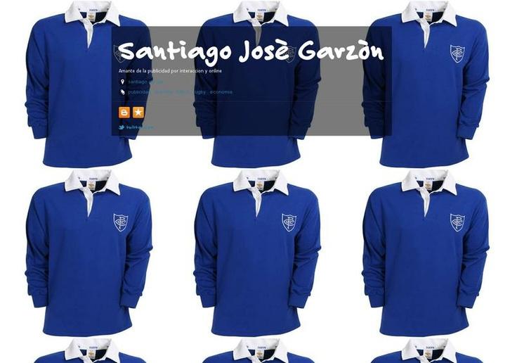 Santiago Josè Garzòn's page on about.me – http://about.me/gudjhonsen