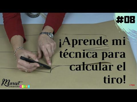 #08 😏Trazo de Pantalón de Dama SIN TOMAR ALTO DE TIRO/🎁📐📏Regalo inc…
