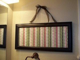 Chicken Wire Board = Hairbow Holder timmonshome