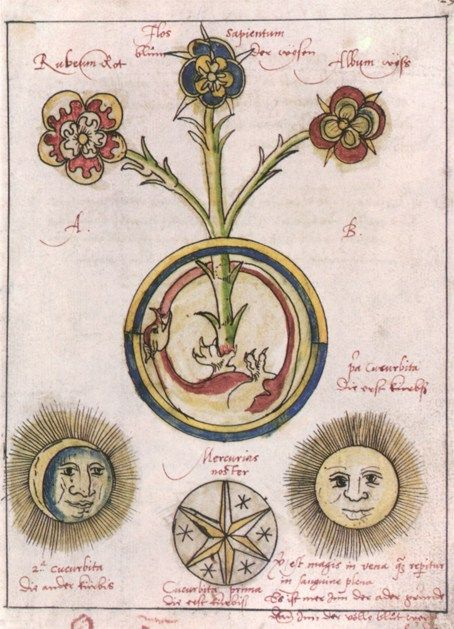 Hieronymus Reussner - Pandora, Basel, 1588, alchemy.