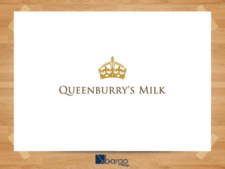 Desain Logo Queensburry's Milk 2