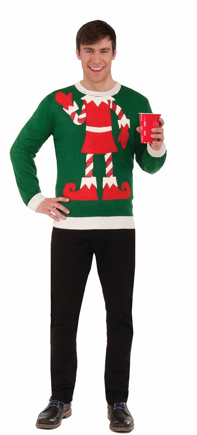 Holiday sweaters are a fun trend for the holidays.