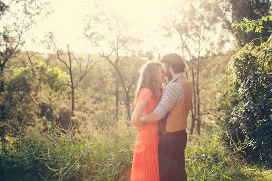 Kat and James' Relaxed Brisbane Shoot