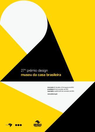 27 Prêmio Design MCB #cartaz #poster #design