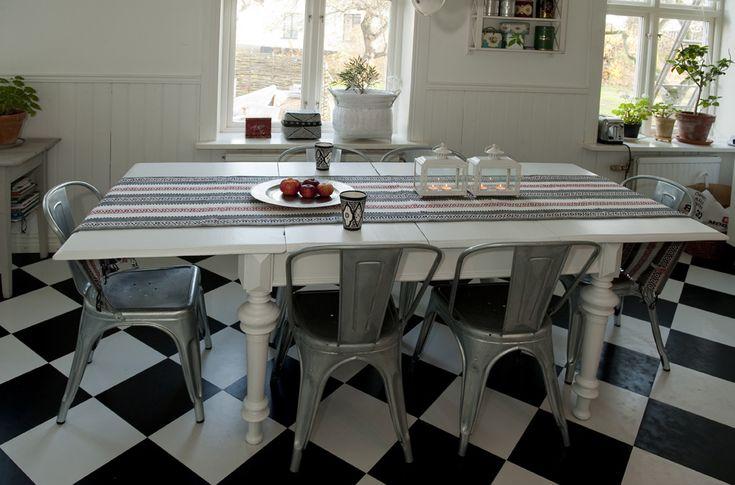 stort matbord