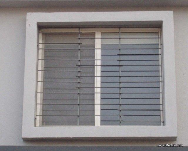 Rejas horizontales rejados pinterest - Verjas de hierro ...