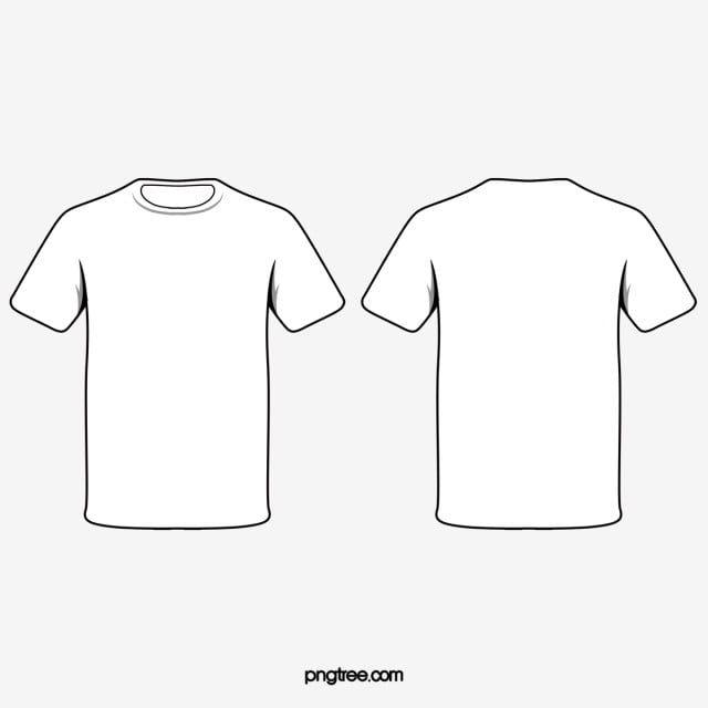 Crew Neck T Shirt Slim Fit White Men H M Us Baju Kaos Kaos Jaket