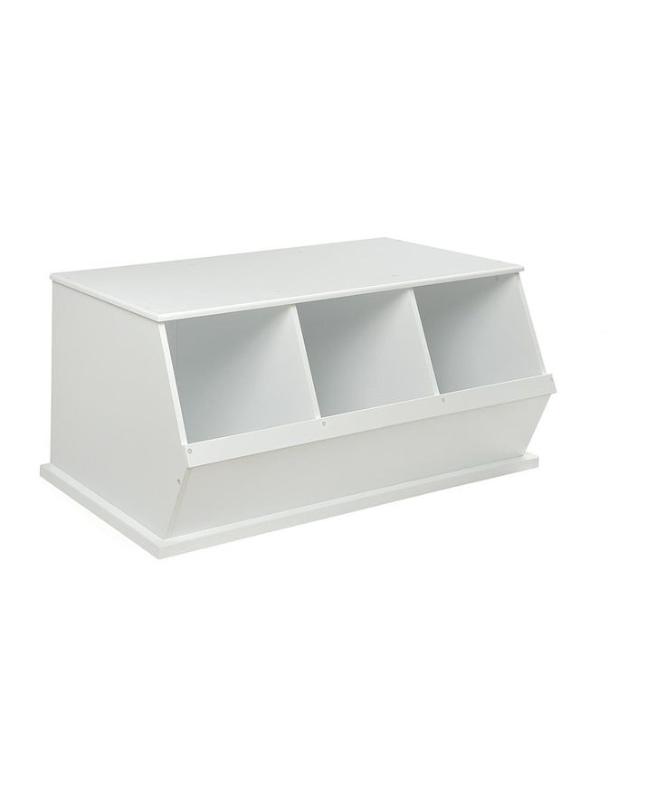 Take a look at this White Three-Bin Storage Cubby on zulily today!