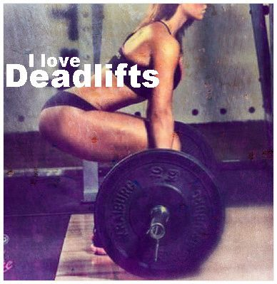 I really do love deadlifts. Just last week deadlifted 155, who knew? Next week, add on another 10 pounds. As of 2014 I am able to deadlift 225 lbs. Getting stronger.