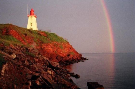 PEI is your pot of gold at the end of the rainbow