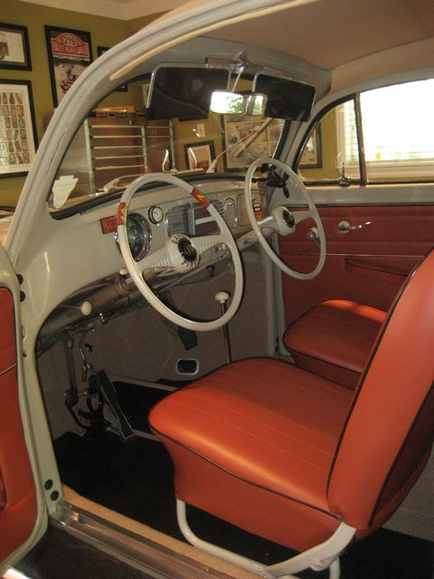 1955 VW Drivers Training Beetle - For Sale  OMG! So cool @Jory Gammie