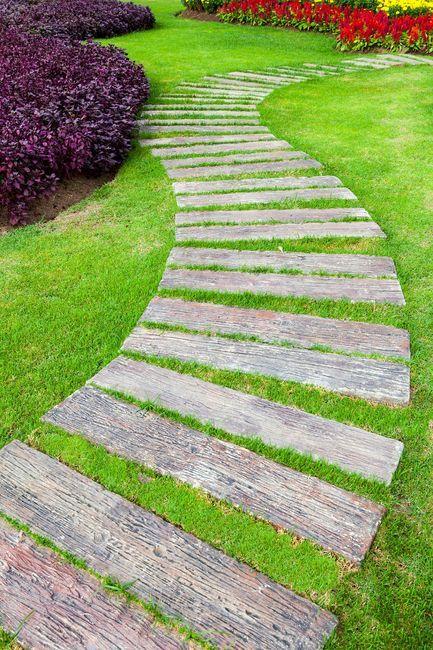 Stepping Stone Garden Ideas
