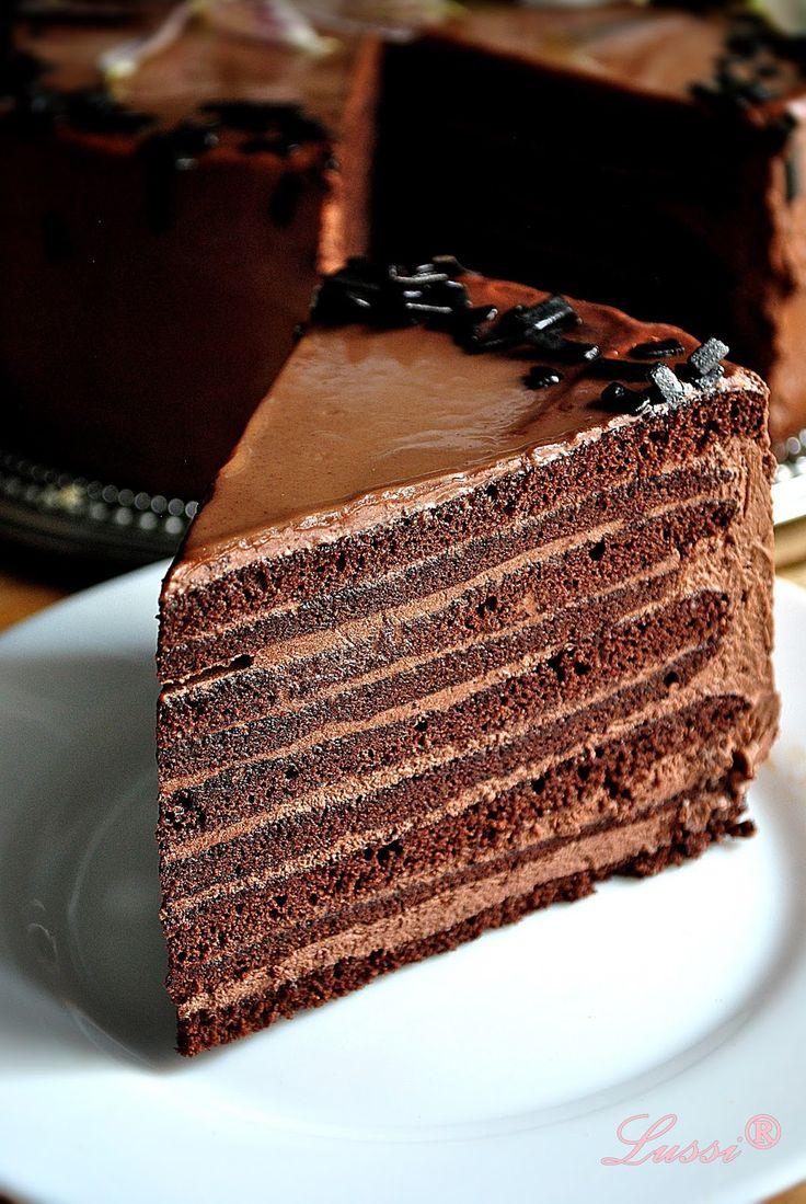 """Шоколадова торта """"Марчело"""""""