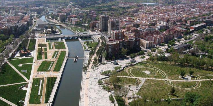Parque Madrid Rio.