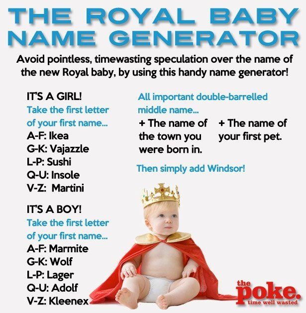 the royal baby name generator the poke | Name Genarators