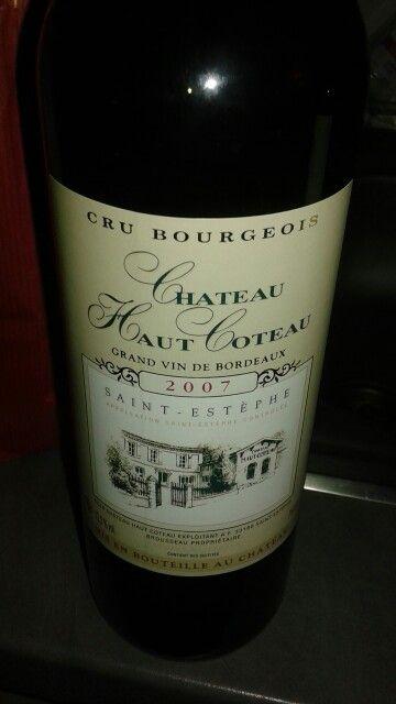 Bordeaux- Château haut coteau 2007 Salon du vigneron