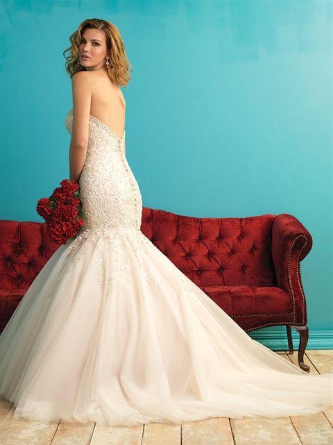 69 best ALLURE images on Pinterest   Short wedding gowns, Wedding ...