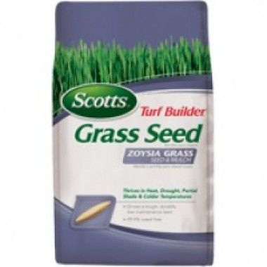 Scotts Company 18362 Zoysia Grass Seed and Mulch