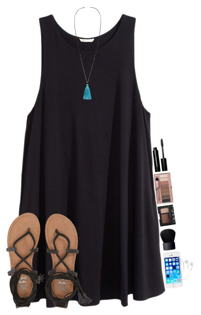 #summer #outfits / Black Shirt Dress + Lace Sandals