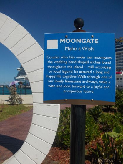 Moongate in Bermuda