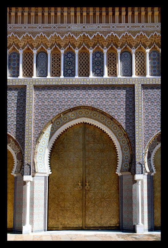 Africa King's Palace Gate. Fez, Morocco © Csaba Witz