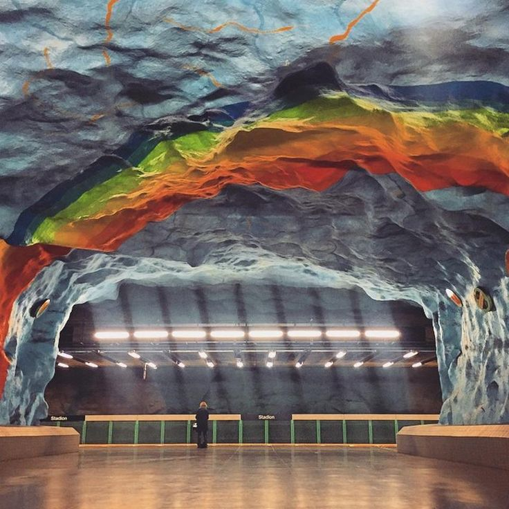 Stadion T-Bana - Östermalm - Stoccolma, Storstockholm