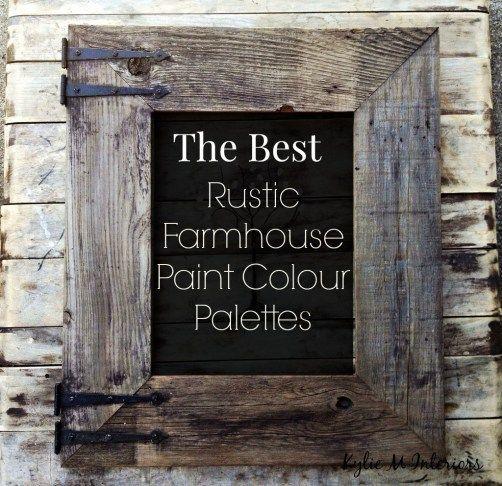 The Best Rustic Farmhouse Paint Colours Benjamin Moore