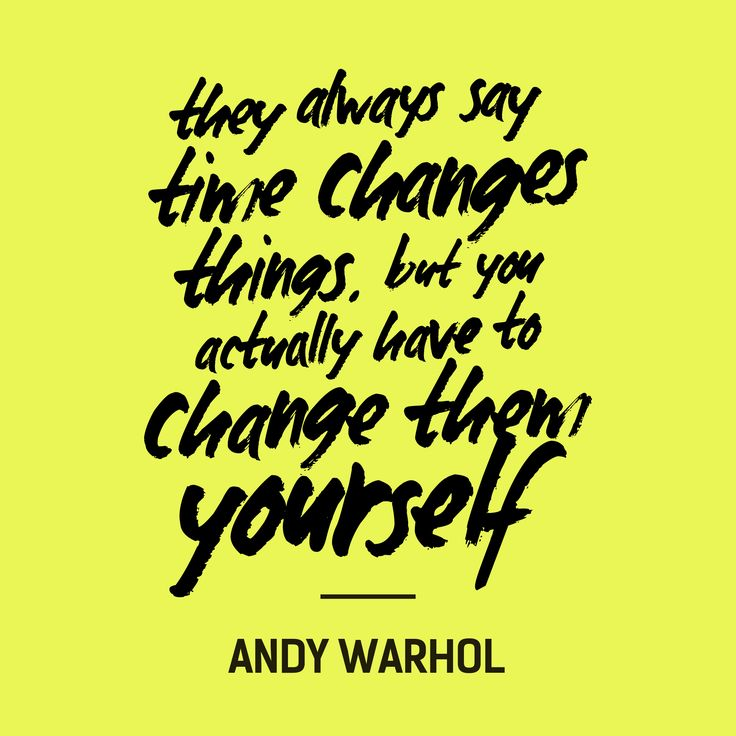 """They always say time changes things, but you actually have to change them yourself"" - Andy Warhol #FashRev"