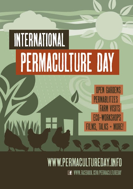 National Permaculture Day – Sunday 6th May is a day where a range of Permaculture events occur across Australia. Open homes, gardens and farms, films, educational workshops, permablitzes and a host of other activities provide an opportunity for the public to see positive Permaculture projects in action, to talk personally to the people living it and experience the Permaculture movement first hand.