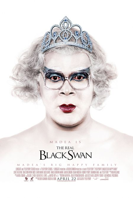 Tyler Perry's Madea is the real Black Swan
