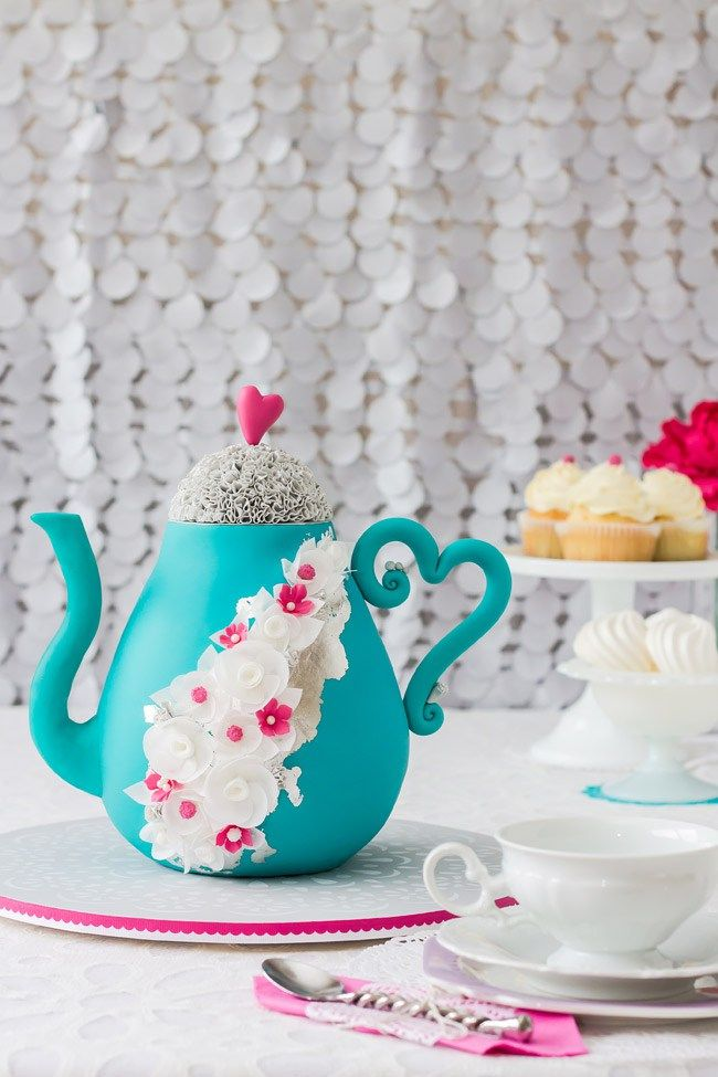 teapot cake tutorial in pictures