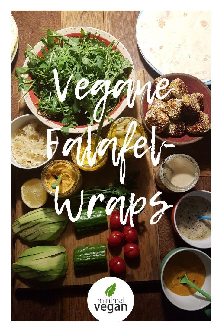 Rezept Fur Vegane Falafelwraps Toll Fur Gaste Bei Besuch Rein Pflanzlich Vegan Schnell Einfach All In 2020 Rezepte Veganes Fingerfood Und Lecker
