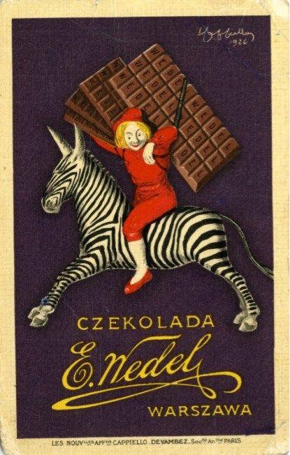 Zofia Stryjeńska dla marki Wedel